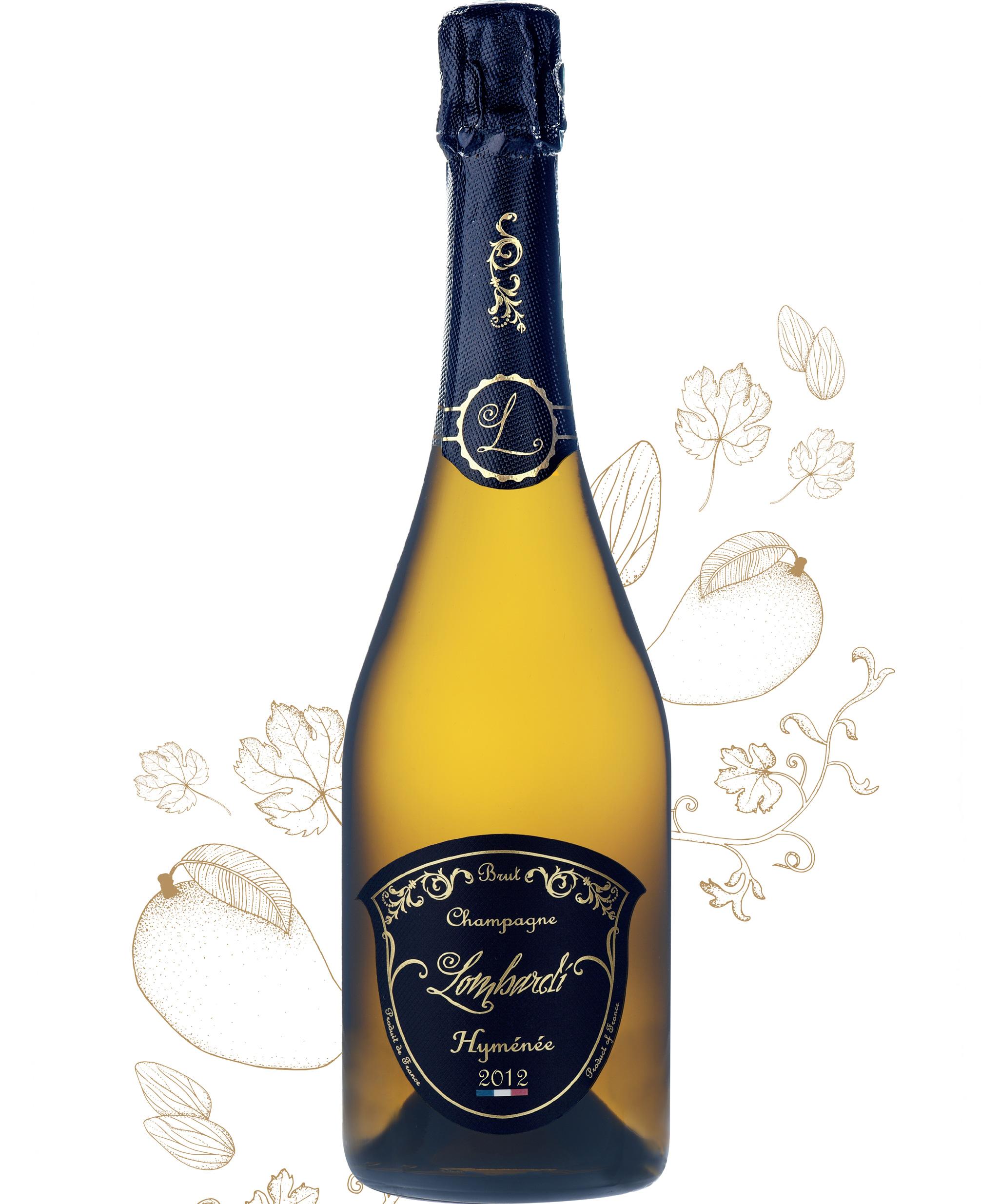 Champagne cuvée Hyménée